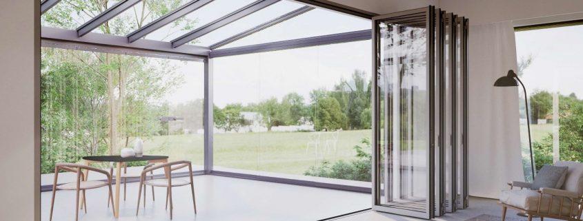 Zusätzlicher Wohlfühlraum im Glashaus